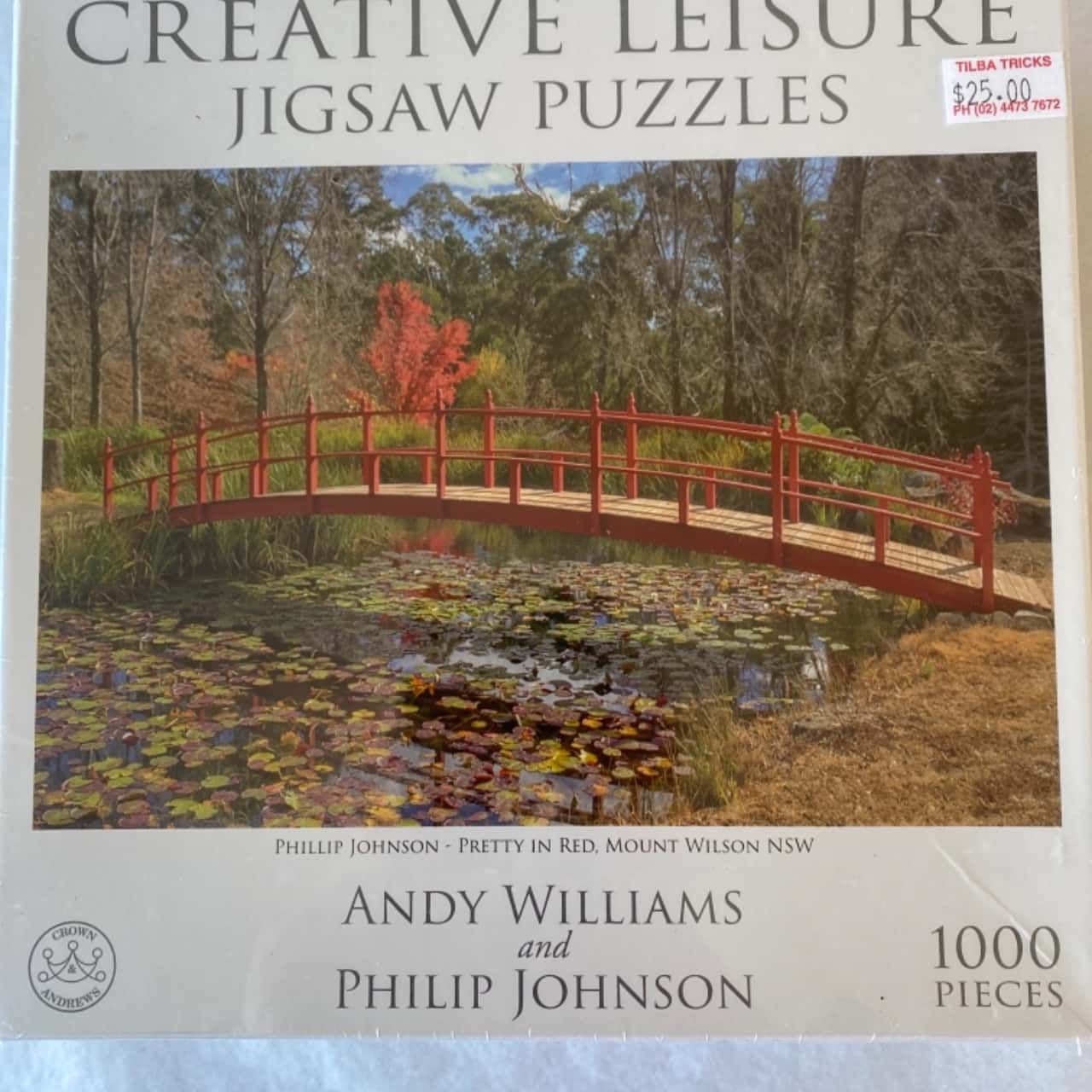 Creative Leisure Jigsaw Puzzles-Pretty In Red, Mount Wilson NSW-New In Box