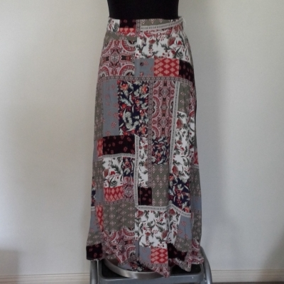 New without Tags Womens SUSSAN Summer Skirt Size 8 Maxi Multicoloured