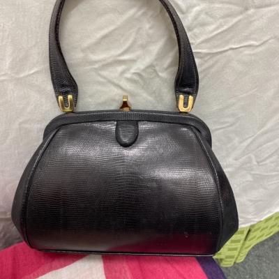 Ladies Lizard Skin Handbag