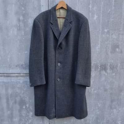Vintage Crombie Aberdeen Wool Coat