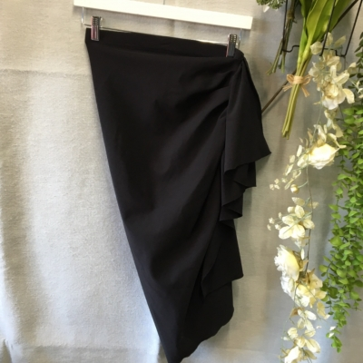 SCANLAN THEODORE Womens Skirt Size 10 Pleated  Black