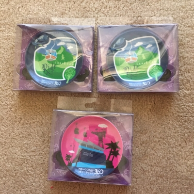 Ngong Ping 360 Ride Cable Car Collectable Plate 3 Pcs