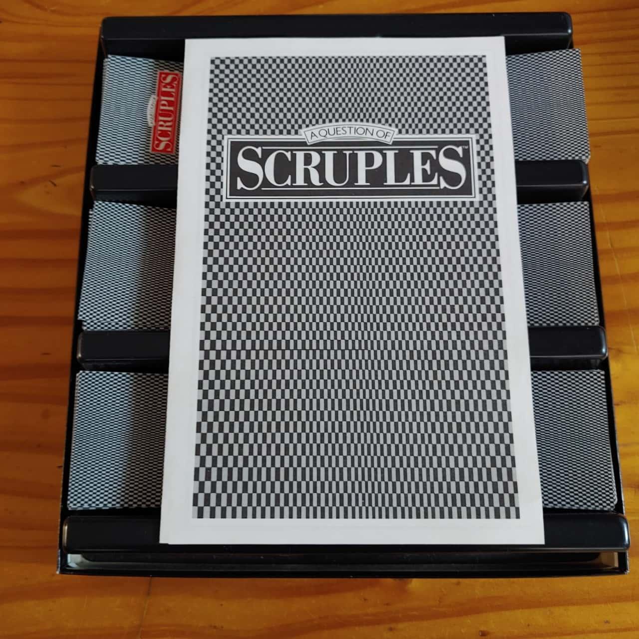 Scruples Vintage Board Game