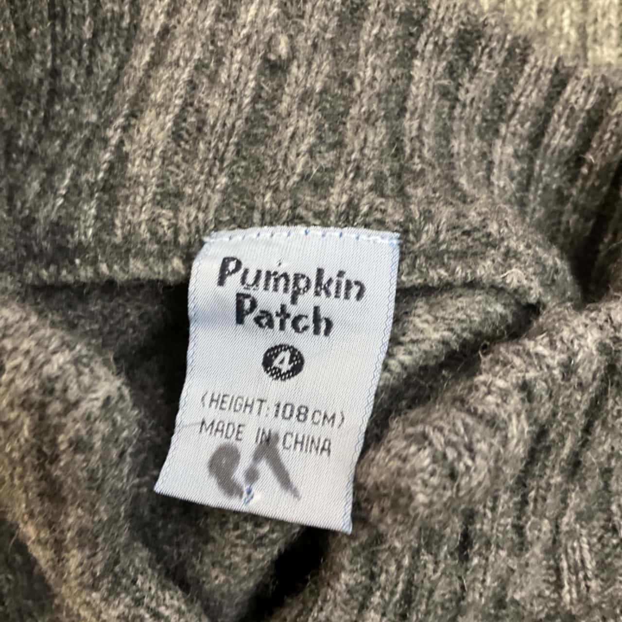 Pumpkin Patch Kids  Size 4 Jumpers Grey