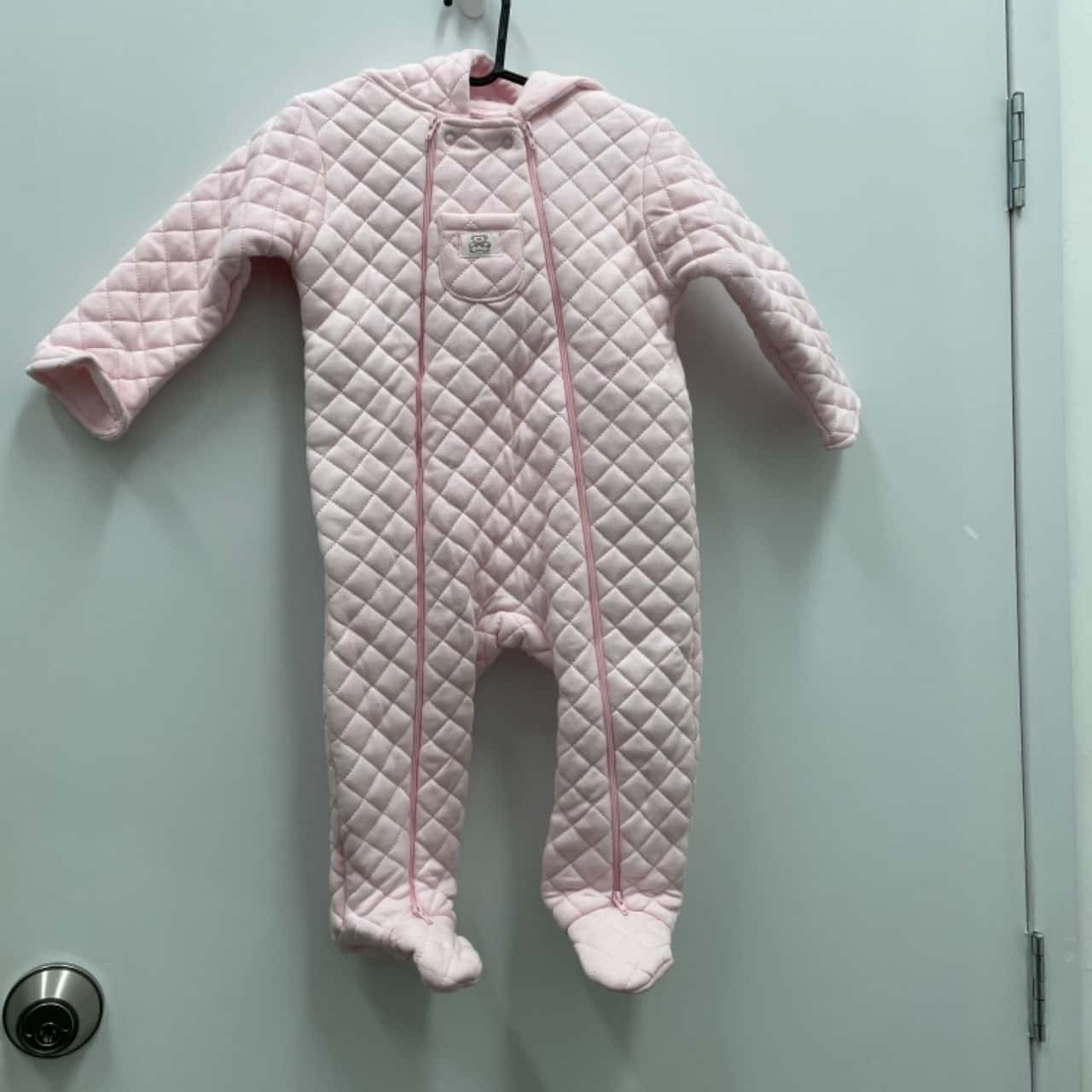 OLLIE'S PLACE Kids BNWT RRP $49.99 Size 1 Winter Onesie Pink