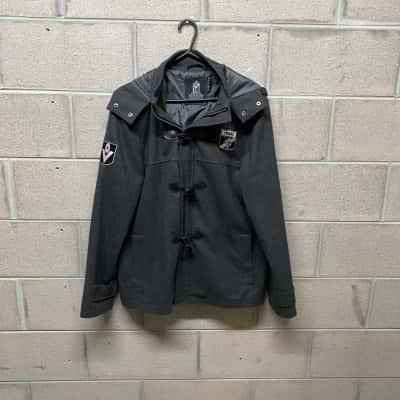 First 18 Richmond Tigers Mens Hoodie Jacket Size M Grey