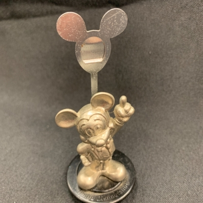 Mickey Mouse place/photo stand