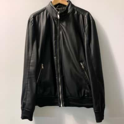 Zara Womens Size XL Biker Jacket Black