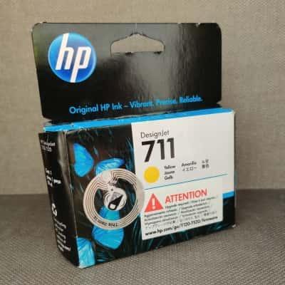 HP Designjet 711 Yellow Cartridge for HP Designjet Printers T120 & T520