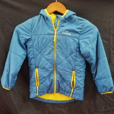 KATMANDU Kids Unisex Blue Jacket Size 6