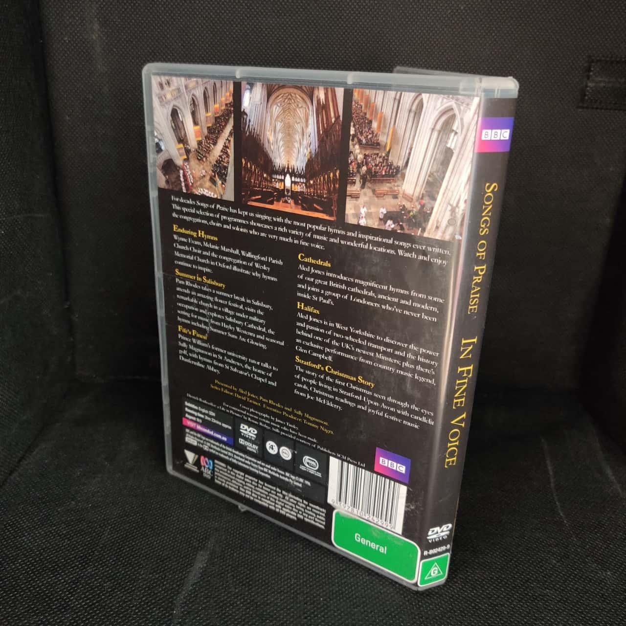 BBC Songs Of Praise DVD - In Fine Voice