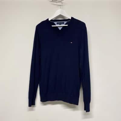 Men's Tommy Hilfiger Blue jumper Size L