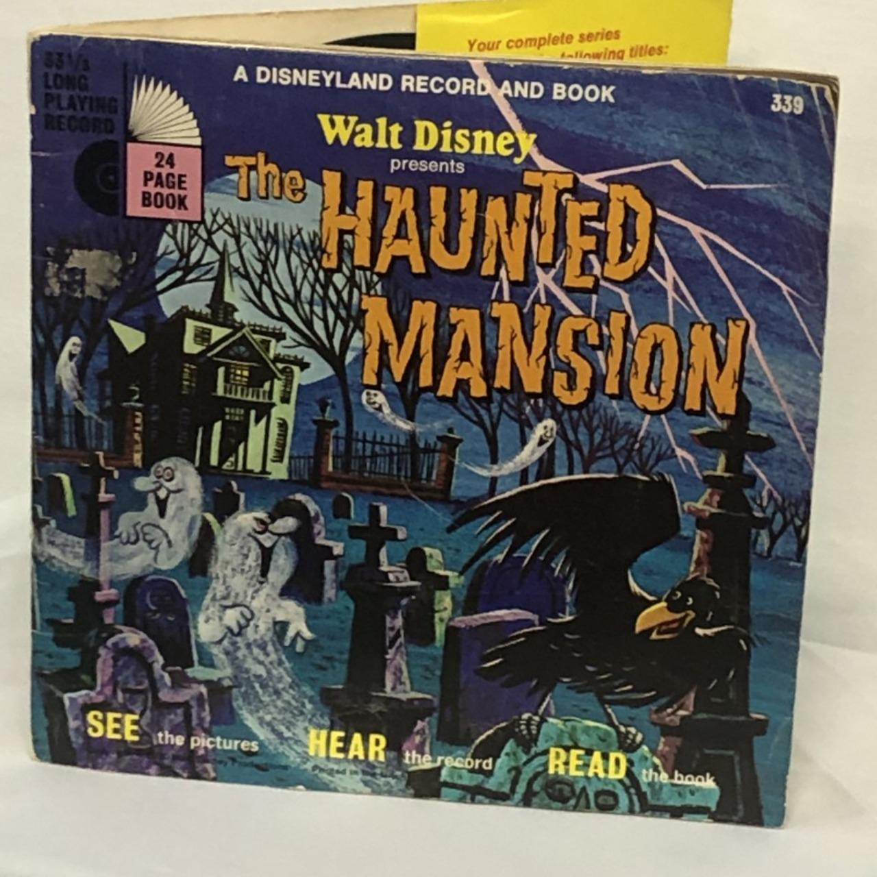 Walt Disney The Haunted Mansion 339
