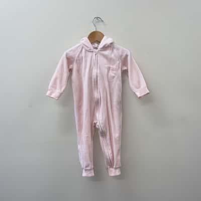 ** REDUCED ** Cotton On Baby Kids Size 1/12-18m Pink Onesie