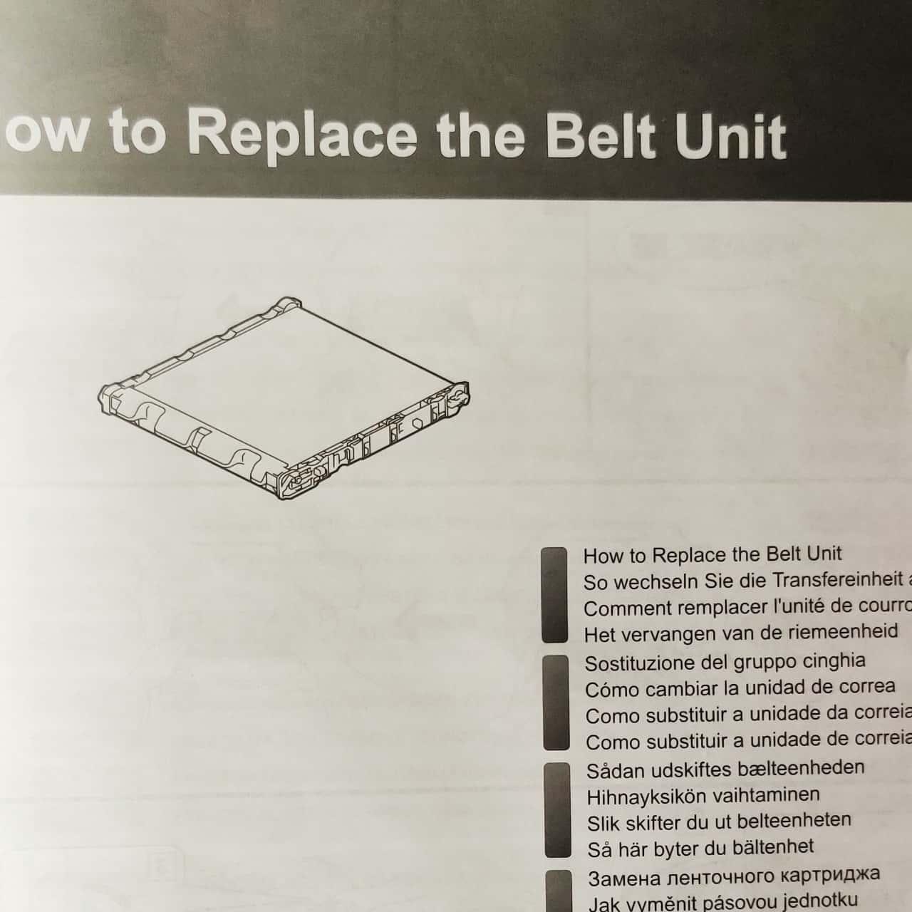 Brother BU-330CL Belt Unit for Brother Printer