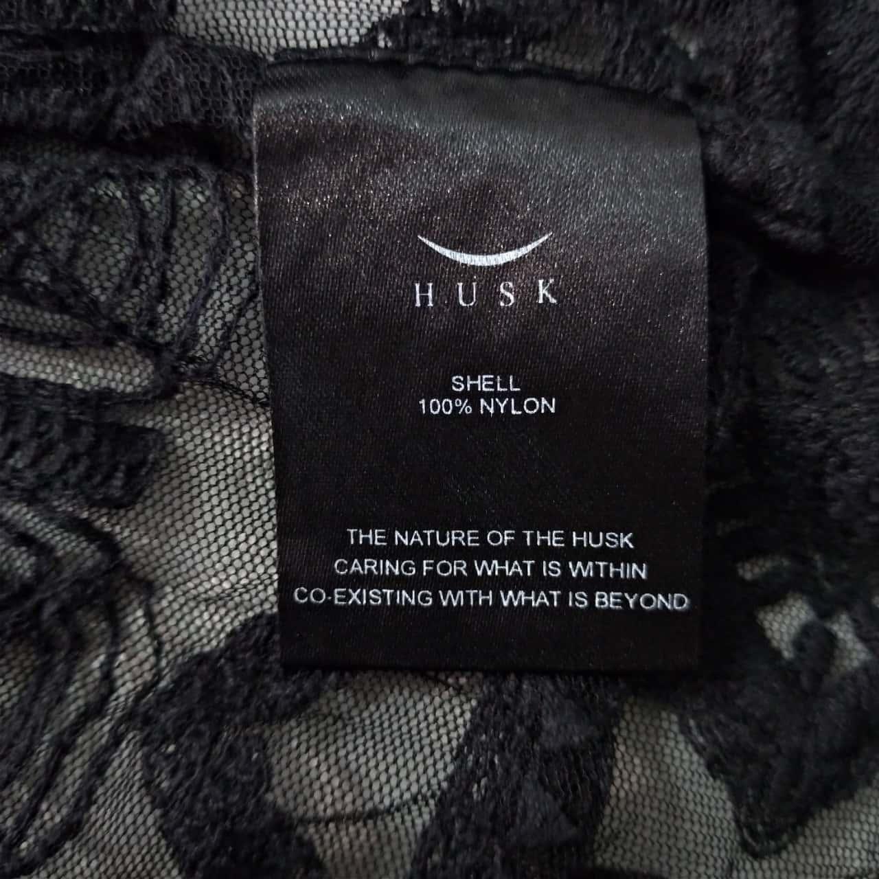 Husk Womens Size 2 Black Blouse