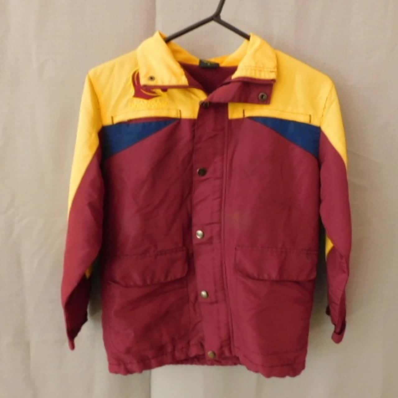 NRL Kids Broncos Winter Hooded #88 Jacket Size 10 UAN