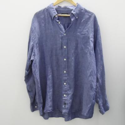 GAZMAN Mens  Size XXL Long Sleeve Blue