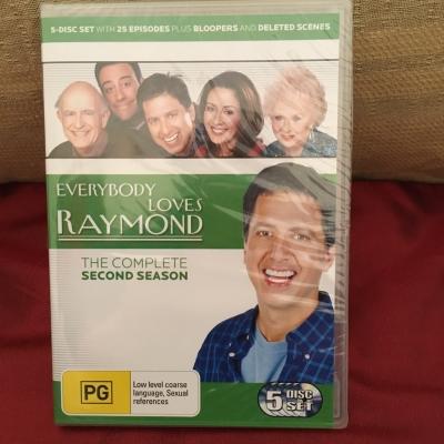 Everybody Loves Raymond - The Complete Second Season Brand New DVD Set