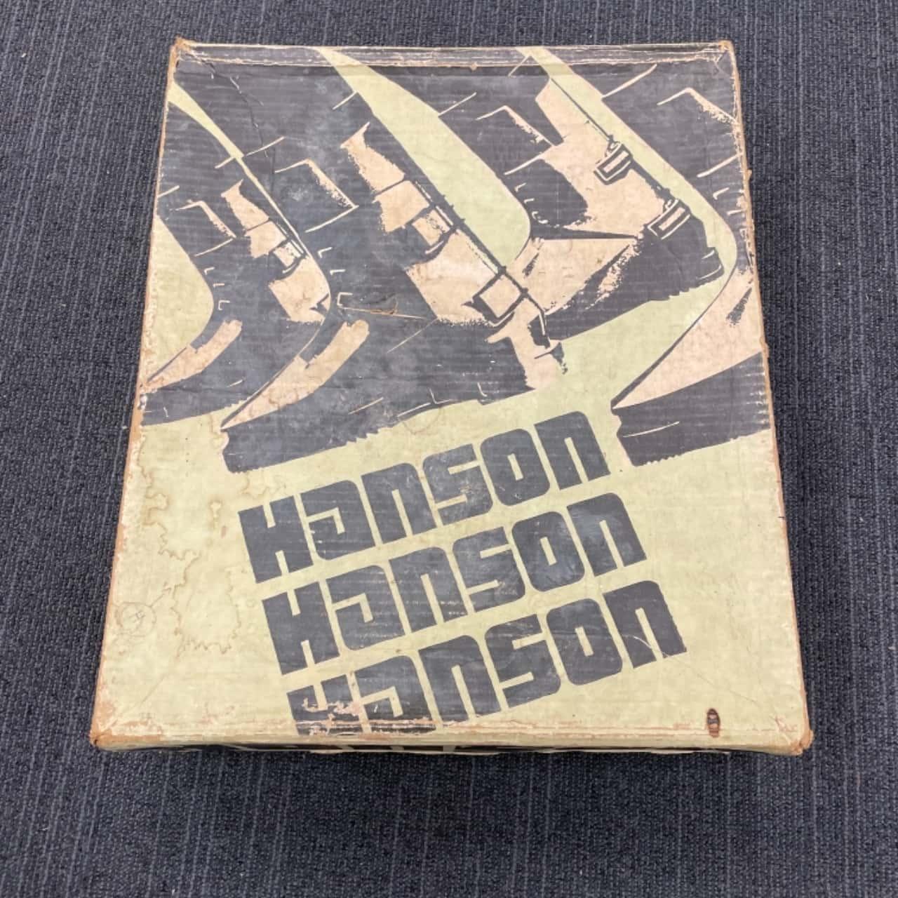 Hanson Vintage 80's Slalom Ski Boots in Original Box