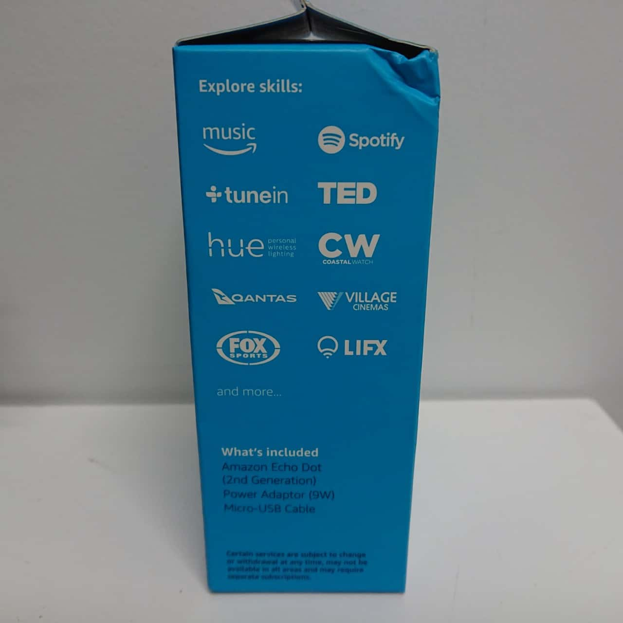 NEW Amazon Echo Dot (2nd Generation) Alexa Smart Bluetooth Speaker