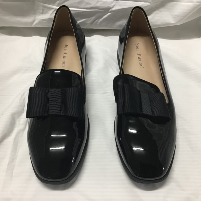 Blue Illusion, Patent leather loafers, Size 41, NWT, RRP $159.99