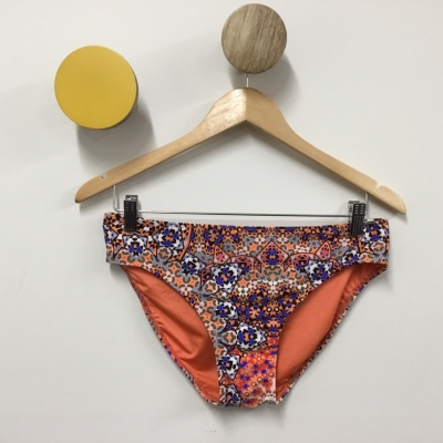 Capriosca Swimware Womens Orange/Multicoloured Size 16 Bikini Bottom