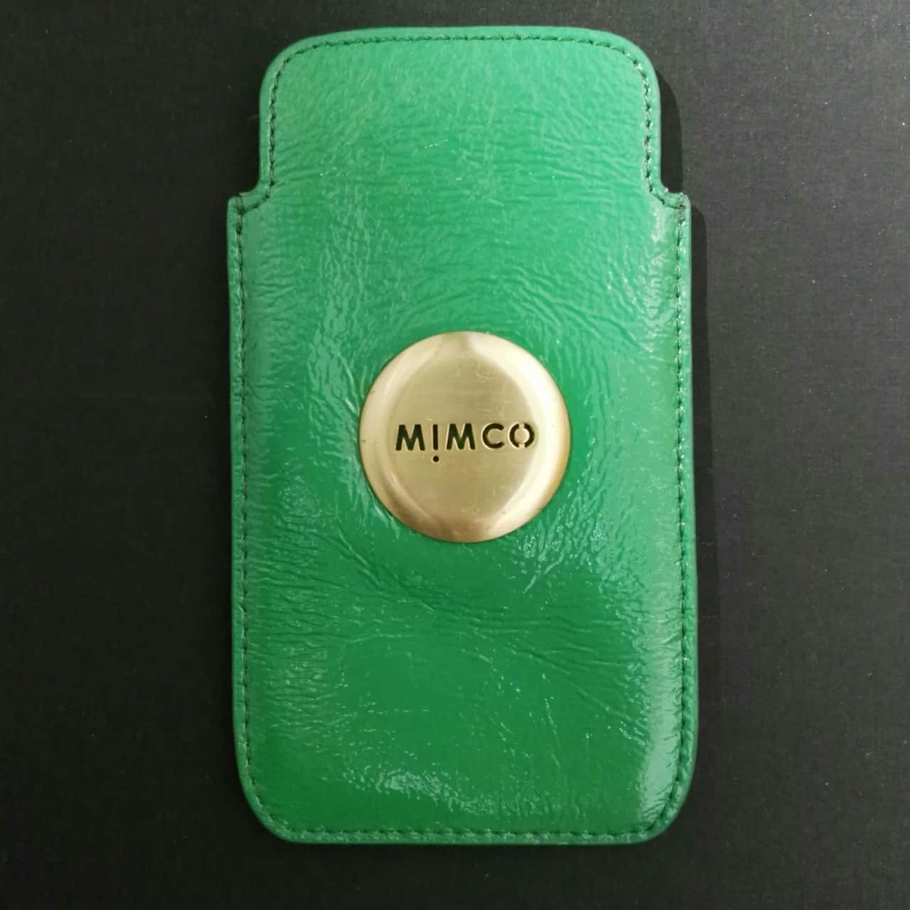 Leather Phone Case by Mimco
