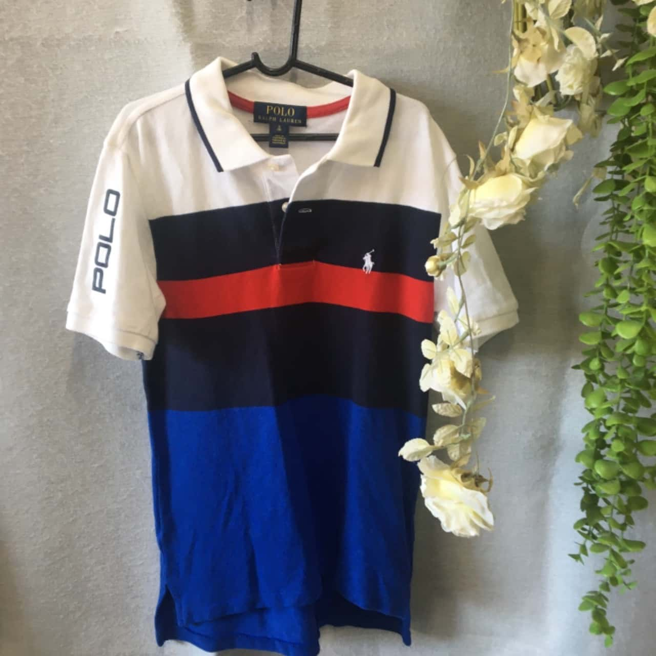 Polo Ralph Lauren Kids  Size 8/S Tops & T-Shirts Blue/Navy Blue/Red/White