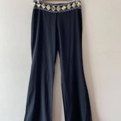 Culture Women's Size 10 Black Bootleg Pants