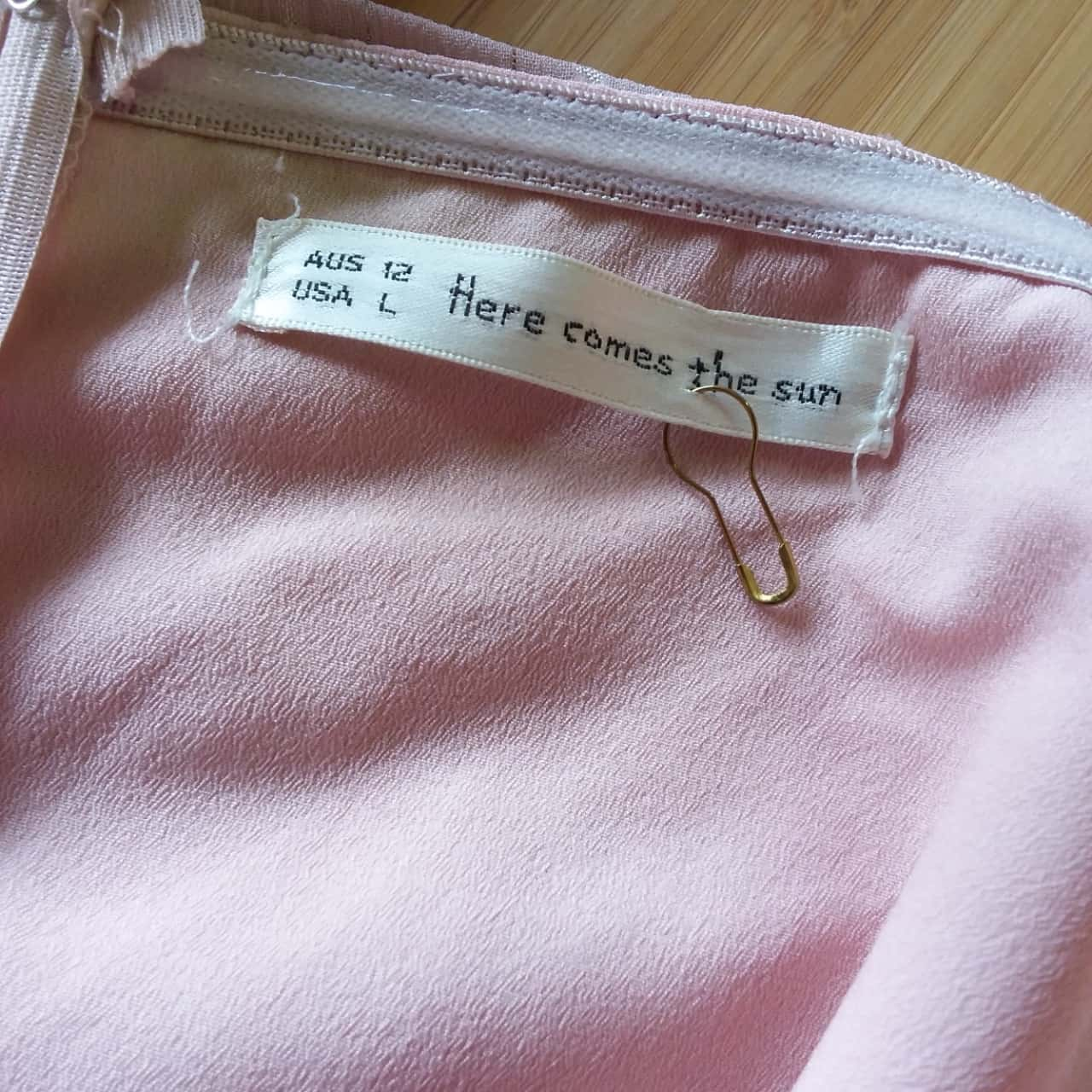 Here Comes The Sun Womens  Size 12 Jumpsuit Pink