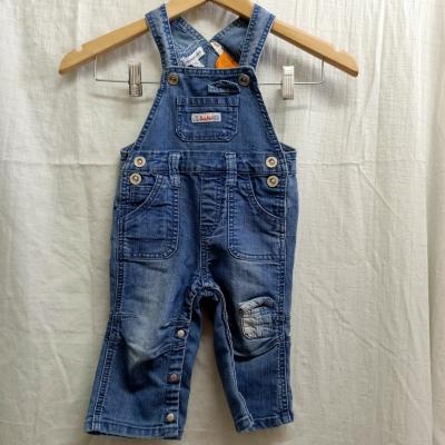 Pumpkin Patch Kids Blue Overalls Size 6-12 Months