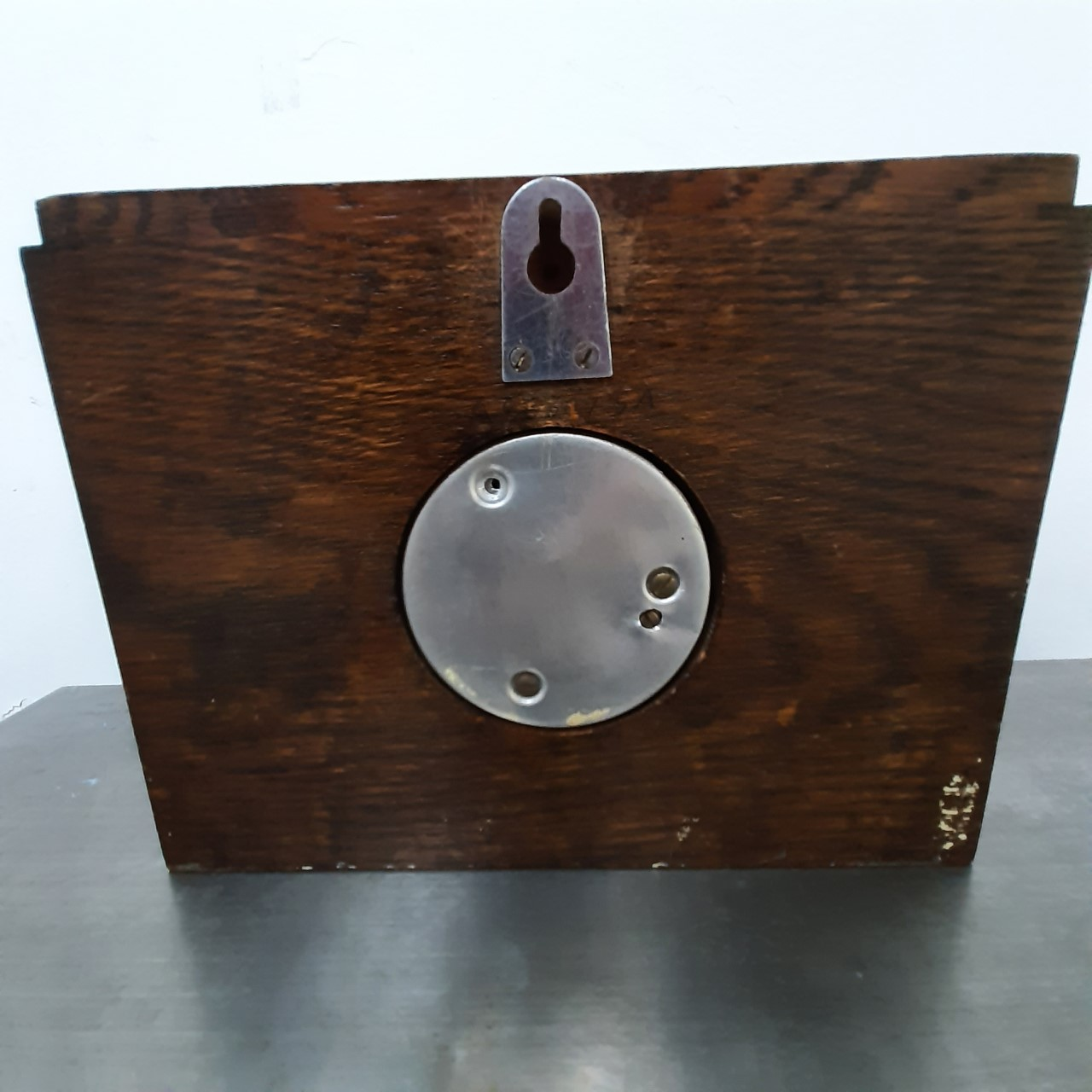 Square Face Barometer Vintage Made in England
