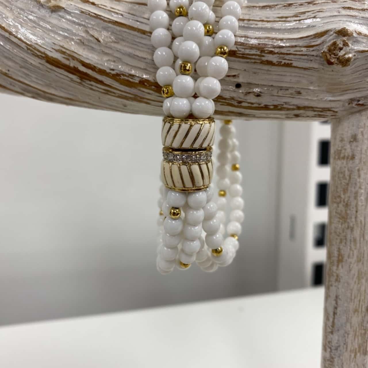 Vintage ECHT 2 PRYM Necklace & Bracelet With Snap Clasp
