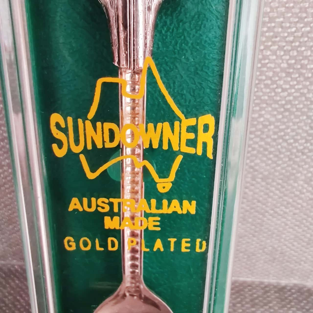 Collectable Souvenir Spoons Australia Themed - Silver & Gold Plated