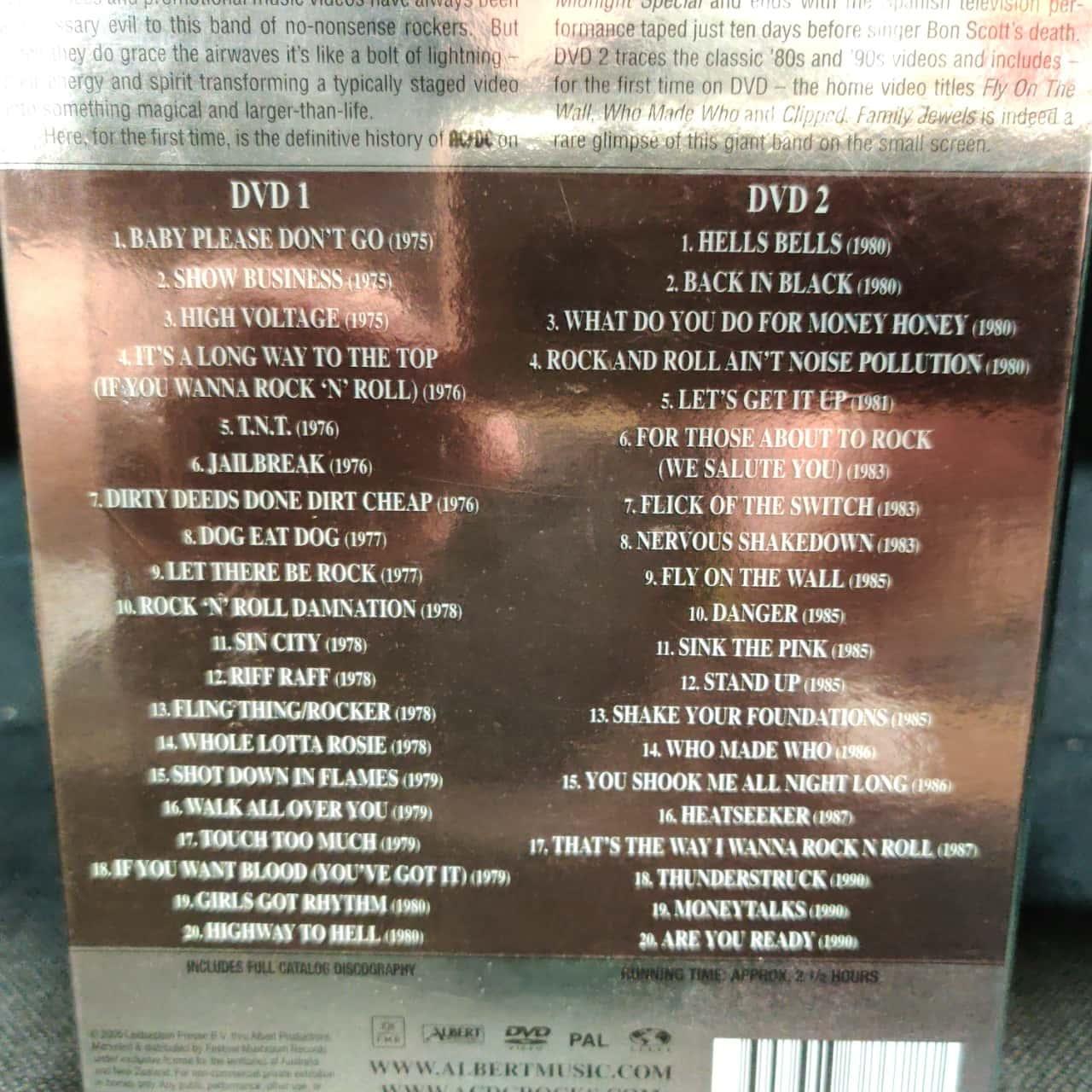AC/DC DVD - Family Jewels