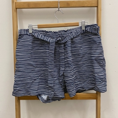 Witchery Womens  Size 16 Blue/Striped/White Shorts