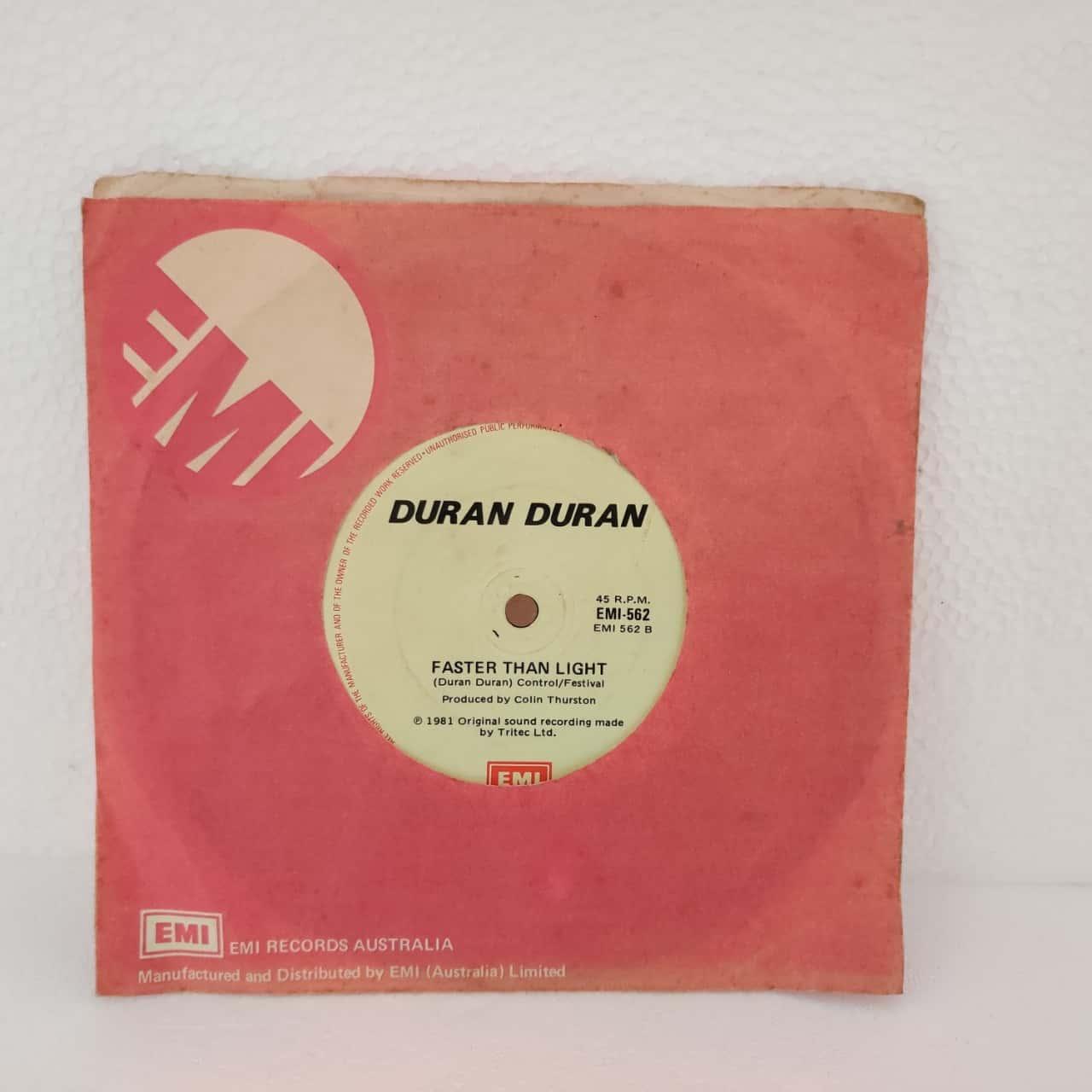 "7"" Single Vinyl Record - Duran Duran - Girls On Film"
