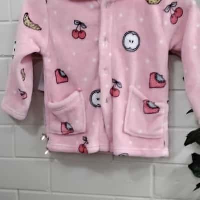Kids  Size 5 Sleepwear Pink  Pjs