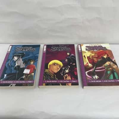"""""""MARK OF THE SUCCUBUS"""" By Ashly Raiti and Irene Flores Volumes 1-3"""