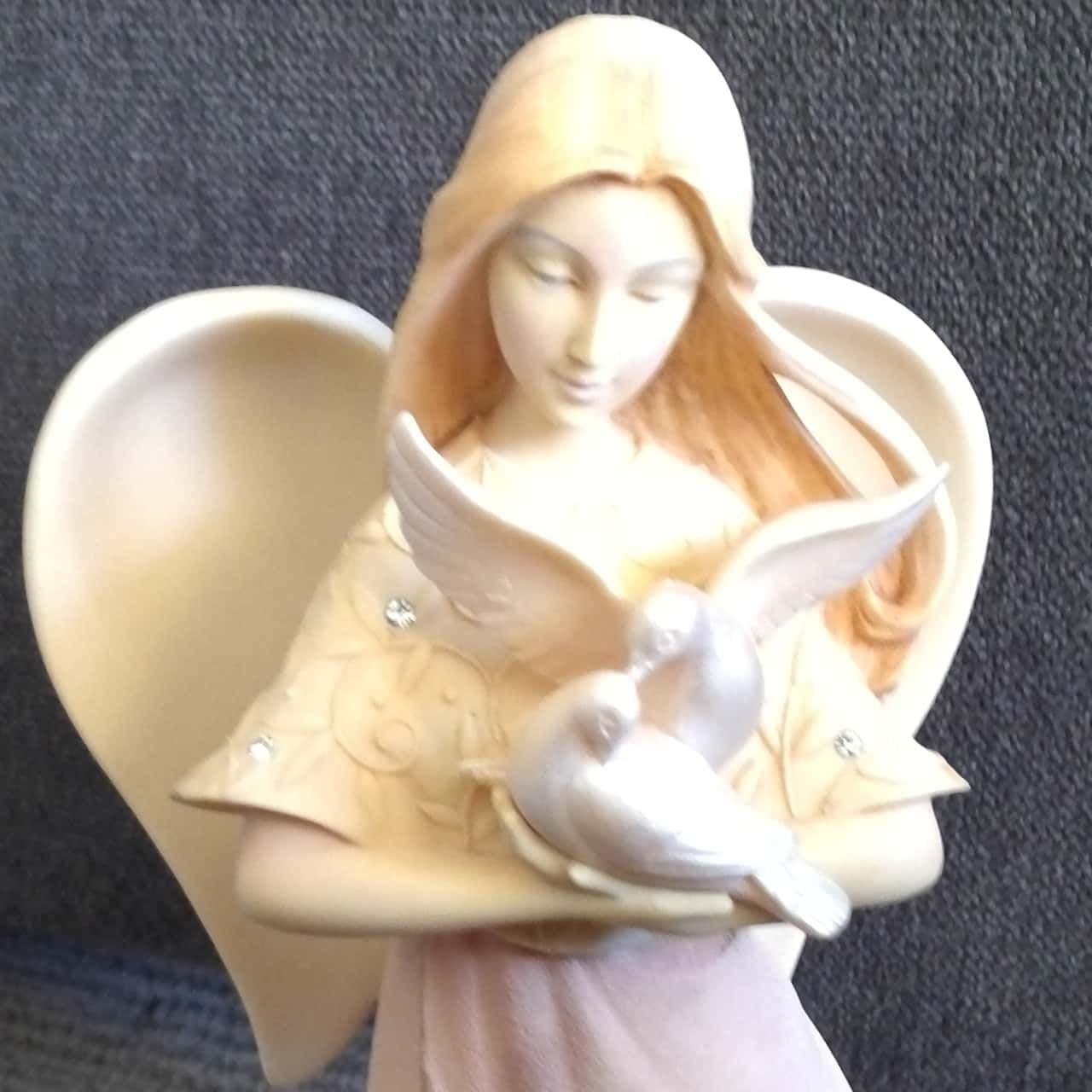 BRAND NEW Lovely. FOUNDATIONS FIGURINE 'LOVE ANGEL' FIGURINE Approx. 20cm h