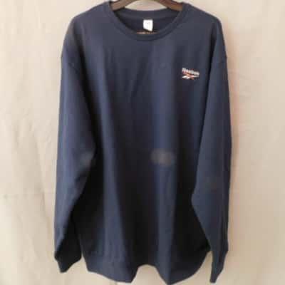 Reebok Mens Navy Blue Sweater Size 2XL NWT