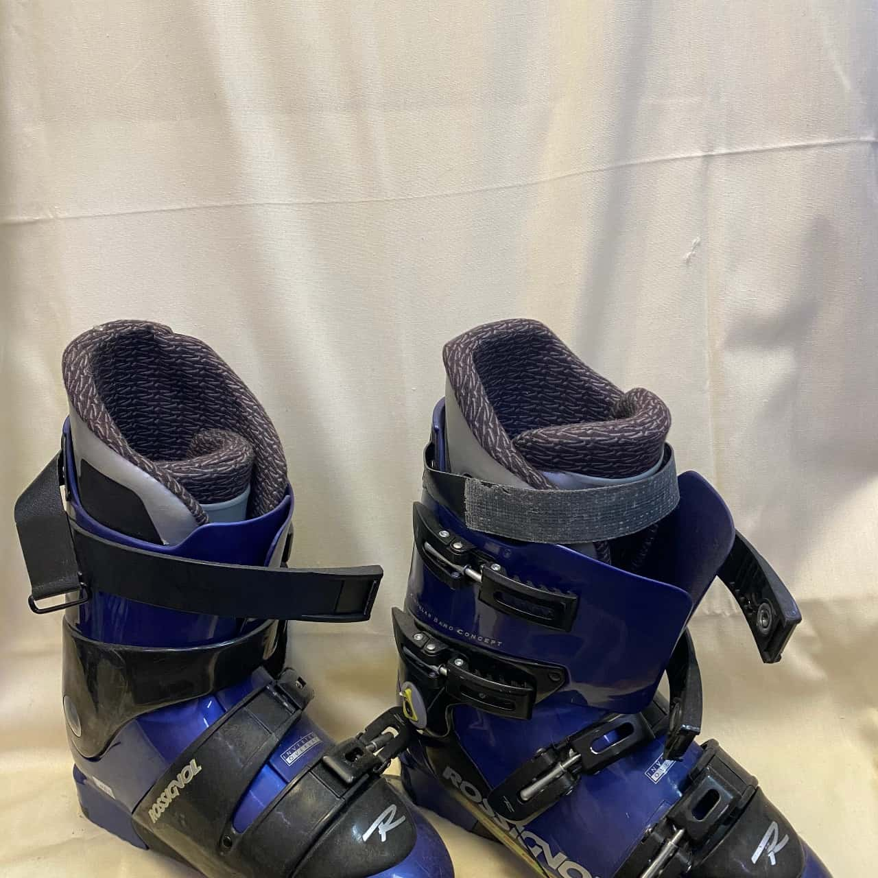 Rossignol Energy ST Unisex Ski Boots Size 27.5 (9.5M/9.5F) Blue