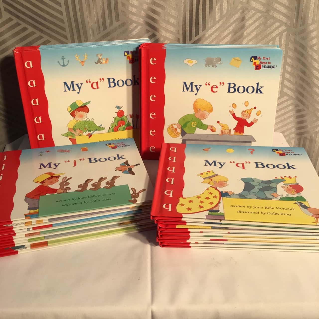 My First Steps To Reading Book Set