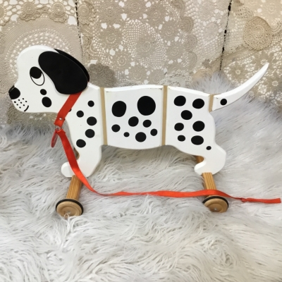 Applepie Pull Along Wooden Dog Toy