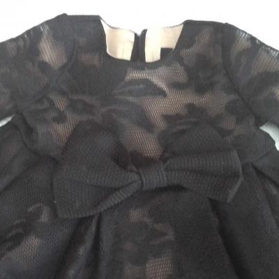 Size 00 BARDOT JUNIOR Black  Lace Dress