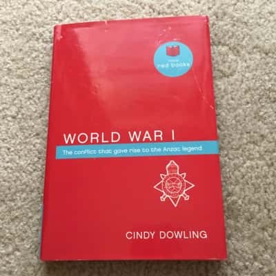 World War 1 - Book by Cindy Dowling
