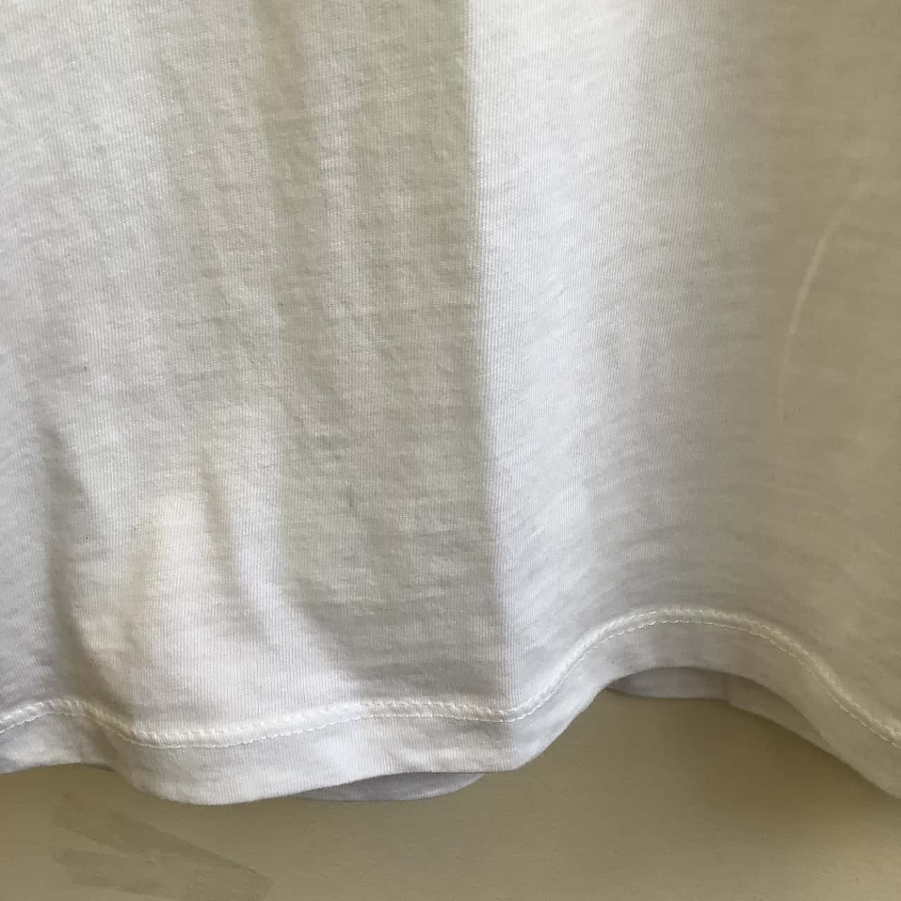 Zara Man Size US / EU : L  White/ Grey Flower Bloom T-Shirt