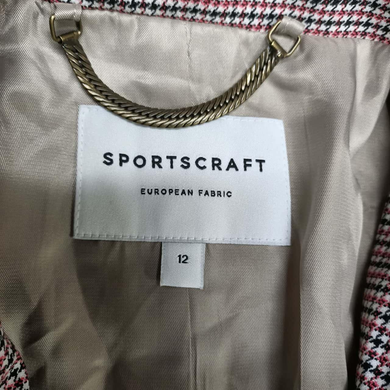 Sportscraft Womens  Size 12 Blazers Multicoloured