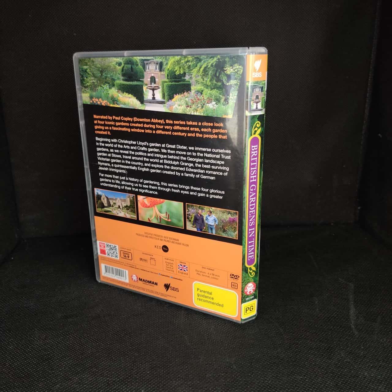 5 Assorted Gardening DVD's - ABC, SBS, Gardening Australia, Vasili, Alan Titmarch